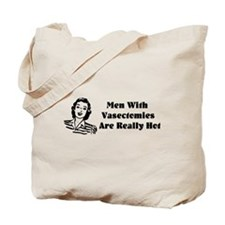 Men With Vasectomies Tote Bag