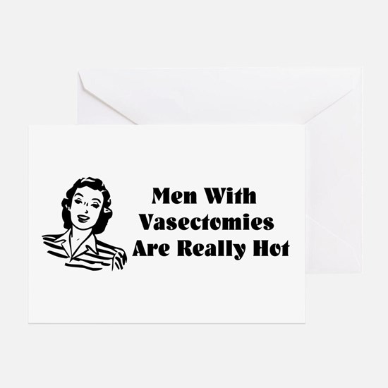 Men With Vasectomies Greeting Card