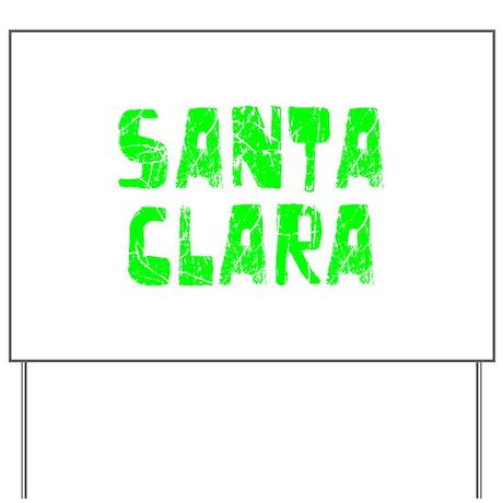 Santa Clara Faded (Green) Yard Sign