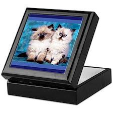 Siamese Kittens Keepsake Box