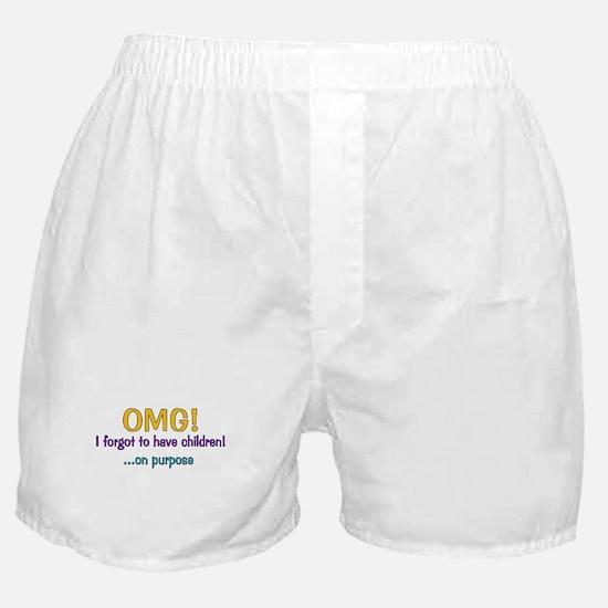 Forgot To Have Children Boxer Shorts