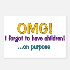 Forgot To Have Children Postcards (Package of 8)