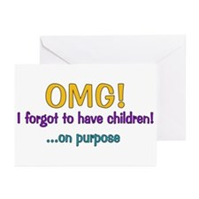 Forgot To Have Children Greeting Cards (Pk of 10)