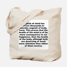 Cute C quotation Tote Bag