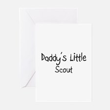 Daddy's Little Scout Greeting Cards (Pk of 10)