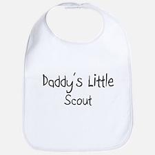 Daddy's Little Scout Bib