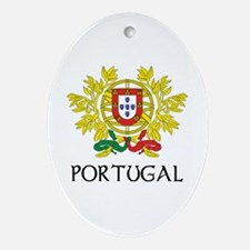 Portugal Coat of Arms Oval Ornament