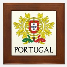 Portugal Coat of Arms Framed Tile