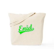 Retro Enid (Green) Tote Bag
