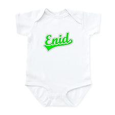 Retro Enid (Green) Infant Bodysuit