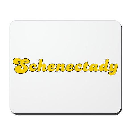Retro Schenectady (Gold) Mousepad