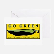 Go Green Greeting Card