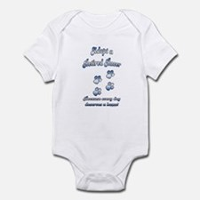 Racer Blue Infant Bodysuit