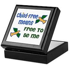 Child-Free Me Keepsake Box