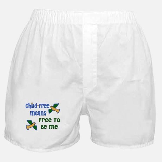 Child-Free Me Boxer Shorts