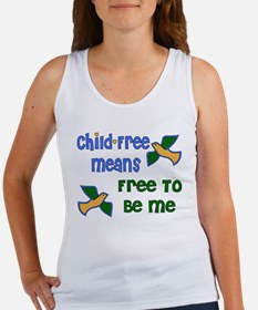 Child-Free Me Women's Tank Top
