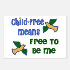 Child-Free Me Postcards (Package of 8)