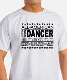 All-American Scottish Highland Dancer T-Shirt