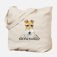 Got Fox Terriers Tote Bag