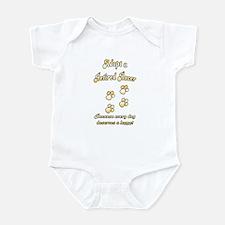 Racer Gold Infant Bodysuit