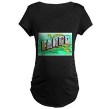 Fargo North Dakota Greetings (Front) T-Shirt