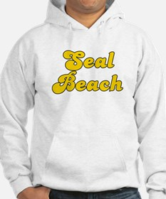 Retro Seal Beach (Gold) Hoodie