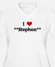 I Love **Stephon** T-Shirt