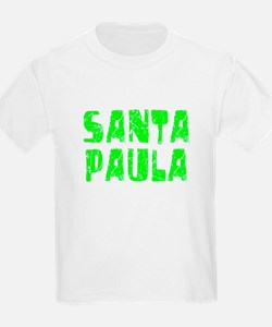 Santa Paula Faded (Green) T-Shirt