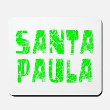 Santa Paula Faded (Green) Mousepad