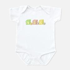 Sugar Chemical Forumla Baby Blocks Infant Bodysuit