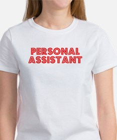 Retro Personal As.. (Red) Women's T-Shirt