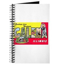 Galena Illinois Greetings Journal