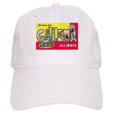Galena Illinois Greetings Baseball Cap