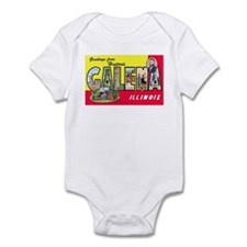 Galena Illinois Greetings Infant Bodysuit