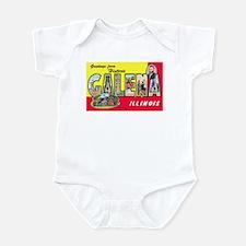 Galena Illinois Greetings Infant Bodysuit