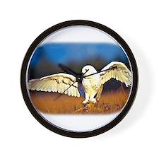 Cute Hawk owl Wall Clock