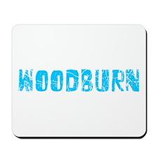 Woodburn Faded (Blue) Mousepad