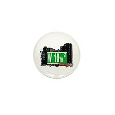 W 10th STREET, BROOKLYN, NYC Mini Button (10 pack)