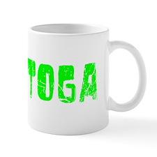 Saratoga Faded (Green) Mug