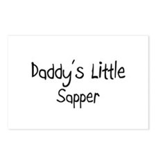 Daddy's Little Sapper Postcards (Package of 8)