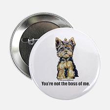 "Yorkshire Terrier - Yorkie Bo 2.25"" Button"