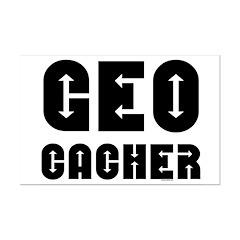 Geocacher Arrows Posters