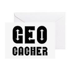 Geocacher Arrows Greeting Card