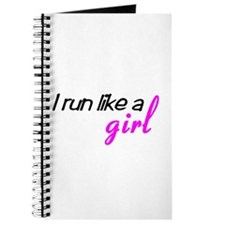 Unique Run like a girl Journal
