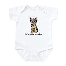 Yorkshire Terrier - Yorkie Bo Infant Bodysuit