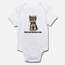 Yorkshire Terrier - Yorkie Bo Infant Bodysuit