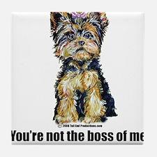 Yorkshire Terrier - Yorkie Bo Tile Coaster