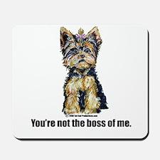 Yorkshire Terrier - Yorkie Bo Mousepad