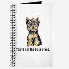 Yorkshire Terrier - Yorkie Bo Journal