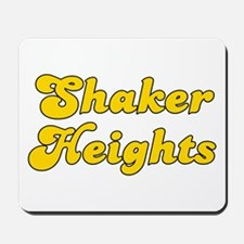 Retro Shaker Heights (Gold) Mousepad